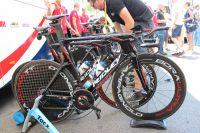 Vélo de contre la montre - Lotto-Belisol