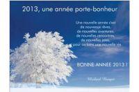 Les voeux de Mickaël Bouget