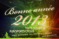 Les voeux de Fun Sports Cycles