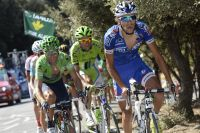 Thibaut Pinot au contact des favoris de la Vuelta