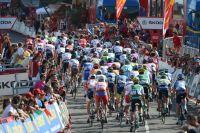 Le peloton du Tour d'Espagne en finit avec l'étape