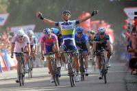 Michael Matthews sort vainqueur du premier emballage massif du Tour d'Espagne