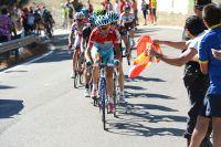 Vincenzo Nibali roule à la poursuite de ses attaquants