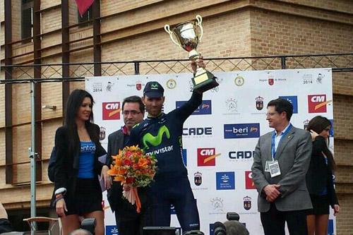 Cinquième victoire de la saison pour Alejandro Valverde au Tour de Murcie