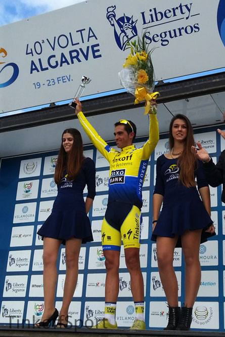 Alberto Contador retrouve la victoire en Algarve