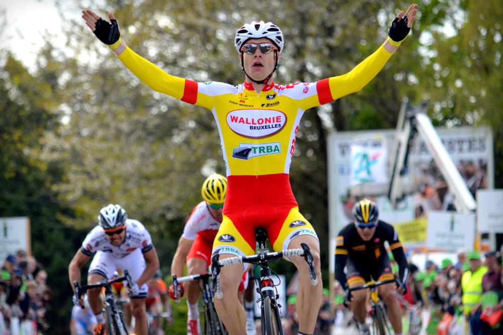 Antoinde Demoitié, vainqueur surprise du Tour du Finistère
