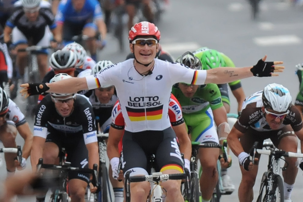 André Greipel vainqueur à Reims