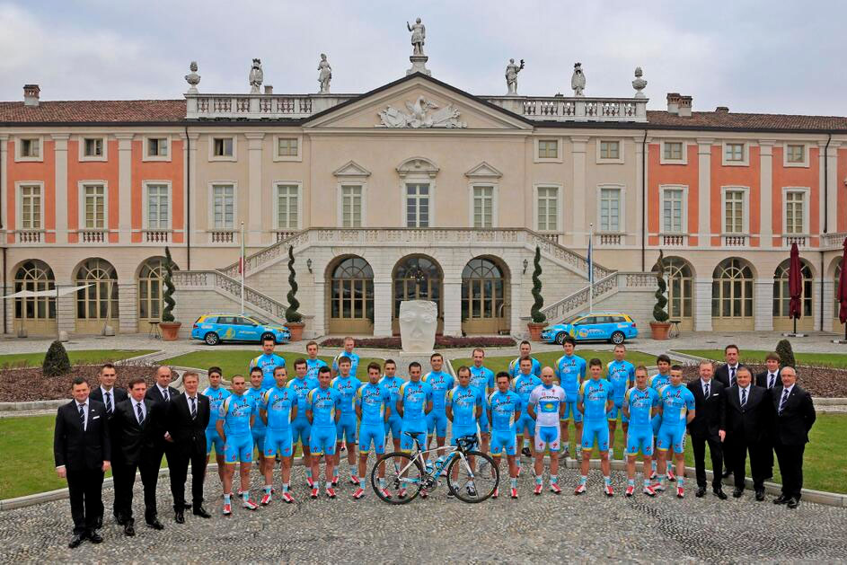 L'équipe Astana dans sa version 2014
