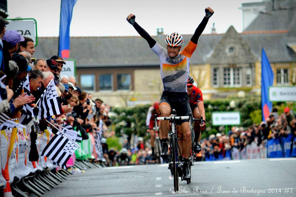 Bert-Jan Lindeman savoure son sacre au Tour de Bretagne
