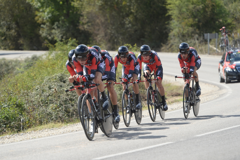 BMC Racing Team en marche vers le titre