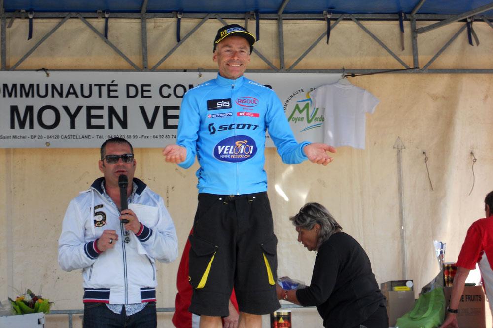 Le podium des plus de 50, remporté par Michel Roux
