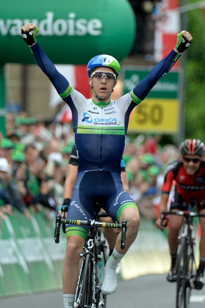 La victoire pour Cameron Meyer