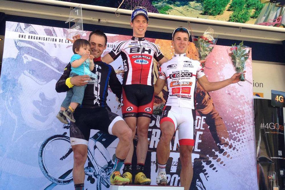 Fabien Canal, Maxime Marotte, Hugo Dréchou, le podium de Cassis