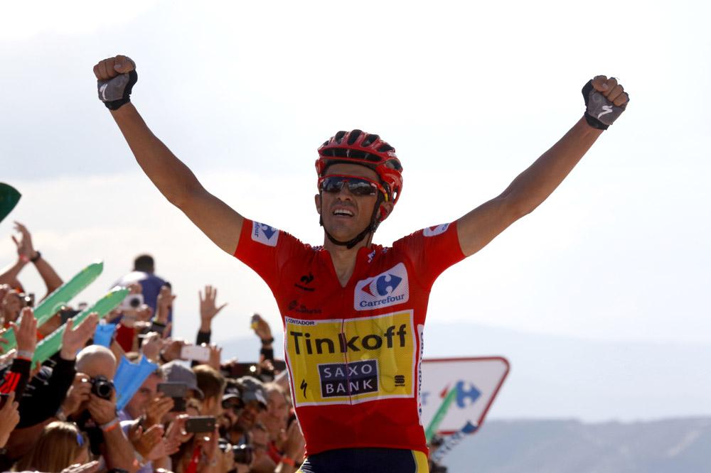 Alberto Contador assomme la Vuelta