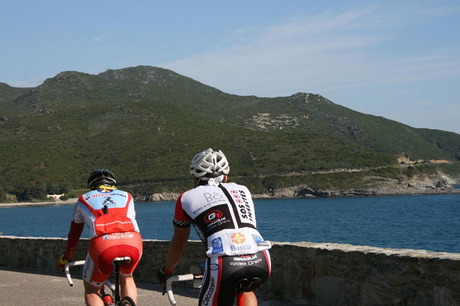 La Cyclo'Corse dans toute sa beauté