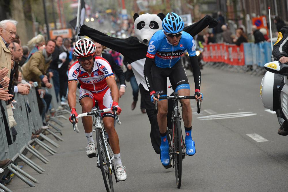 Daniel Martin soutenu par...un panda