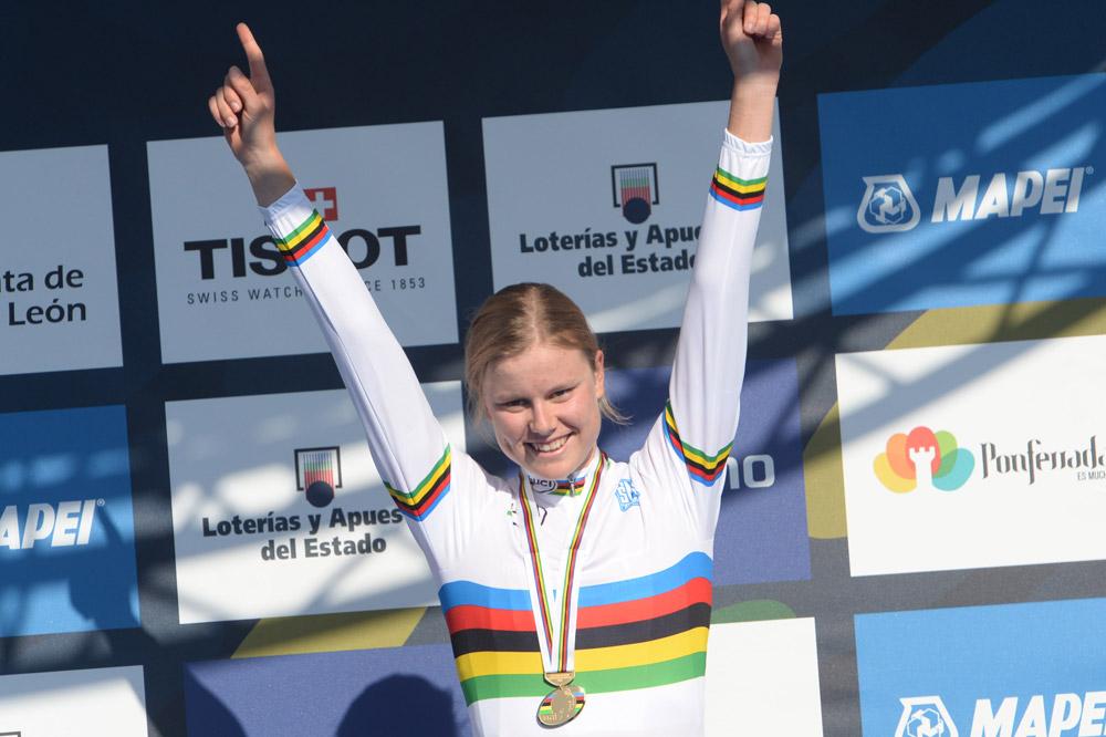 Deuxième titre mondial pour Amalie Dideriksen