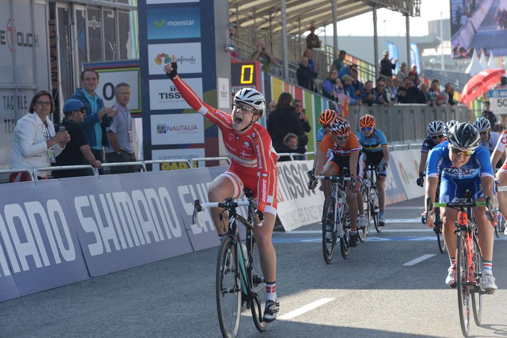 Amalie Dideriksen s'impose au sprint