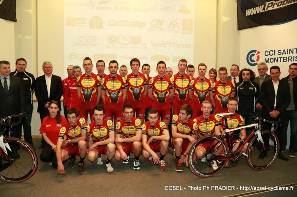 Les coureurs de l'ECSEL se sont réunis vendredi