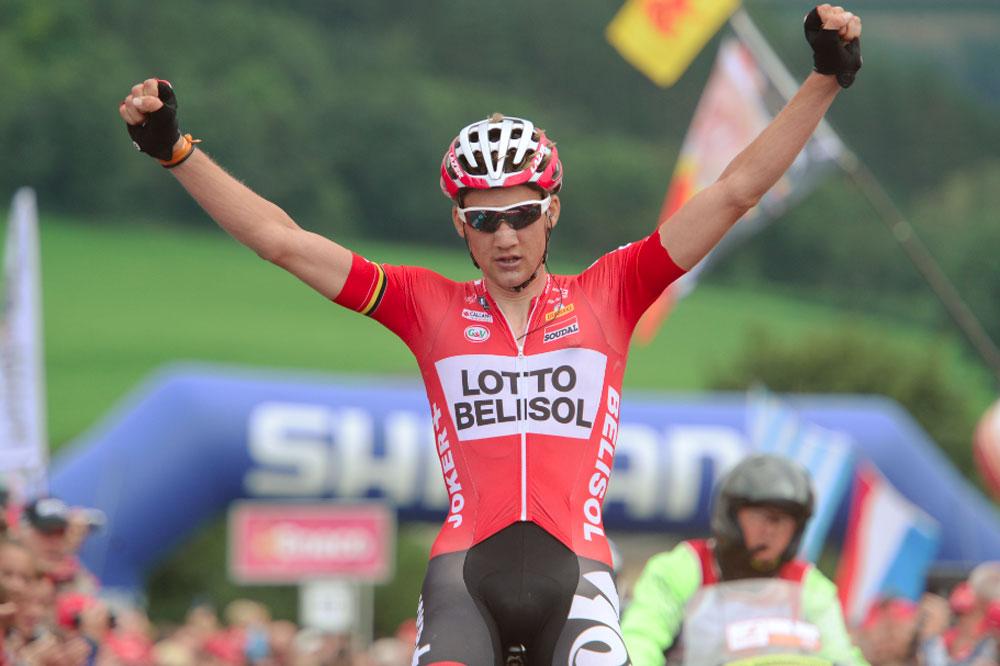 Tim Wellens gagne à la Redoute
