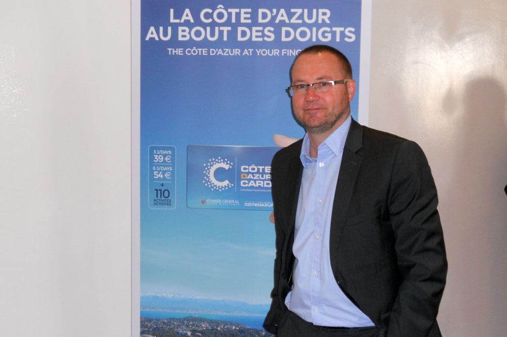 Eric Doré, directeur du Comité Régional du Tourisme Riviera Côte d'Azur