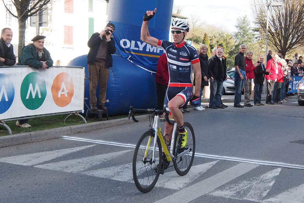 Julien Loubet victorieux
