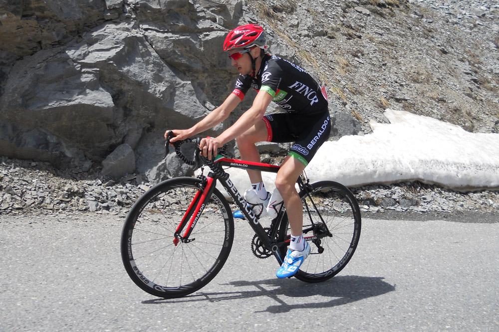 Enrico Zen, le vainqueur de la Granfondo Pantani Forever