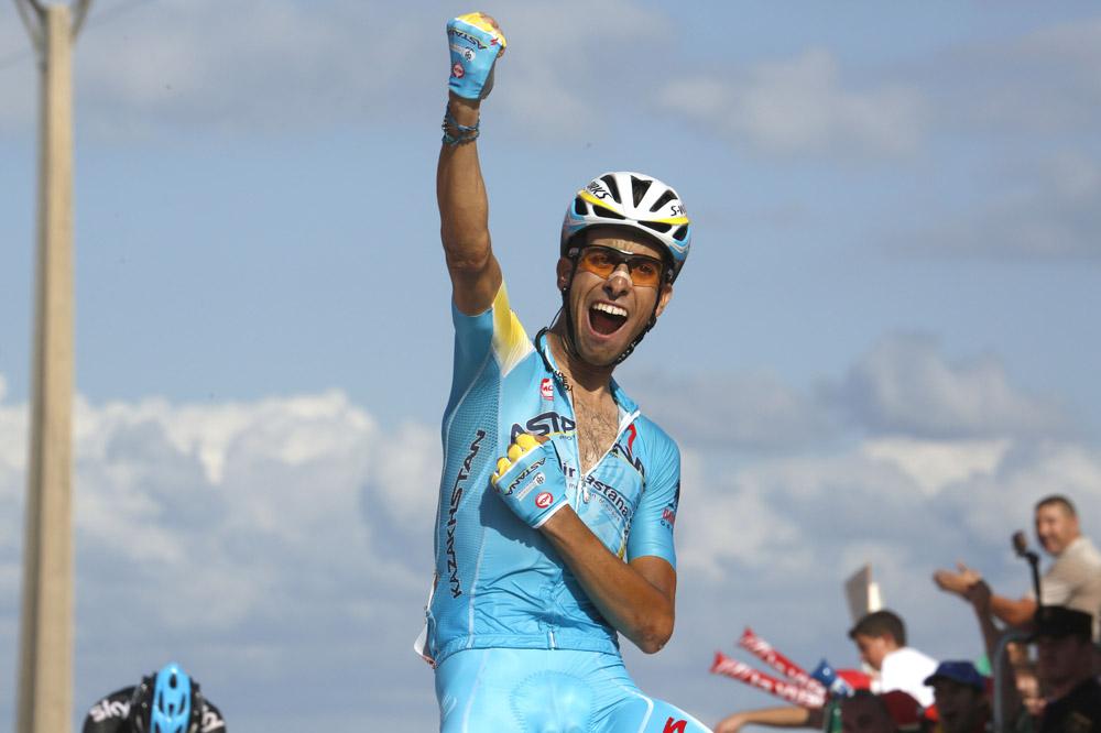 Deuxième victoire d'étape pour Fabio Aru