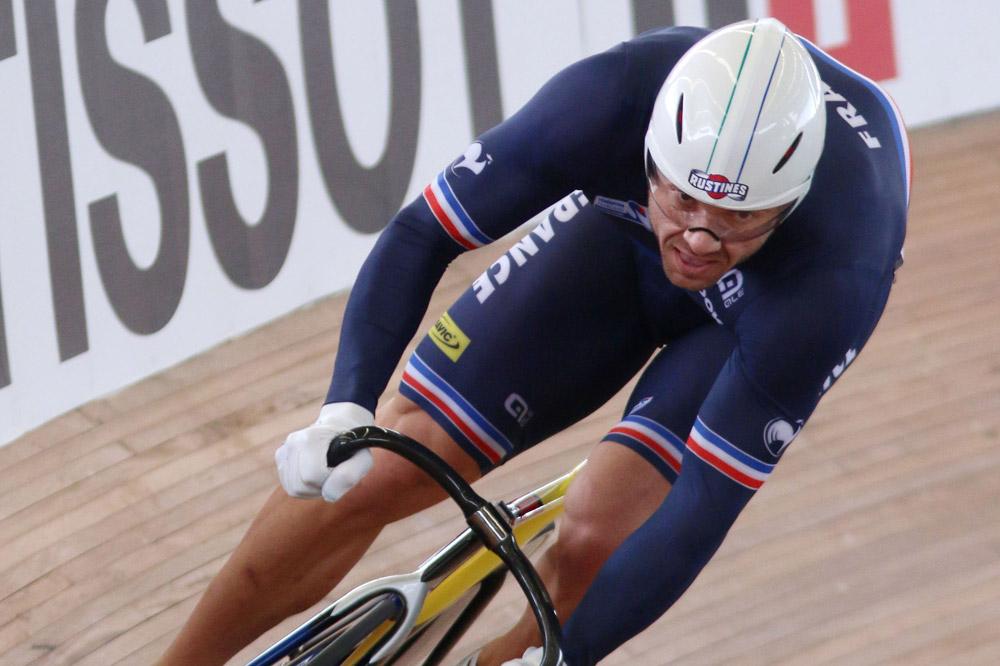 François Pervis en piste pour un triplé !