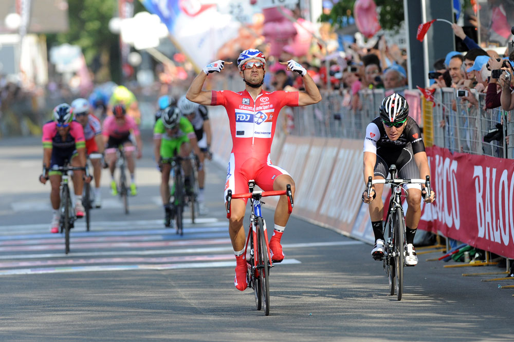 Nacer Bouhanni invincible au Giro