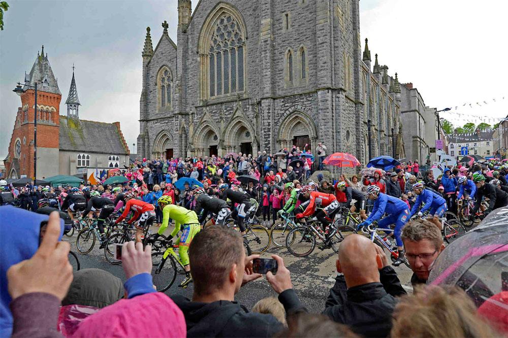 L'Irlande salue le Giro