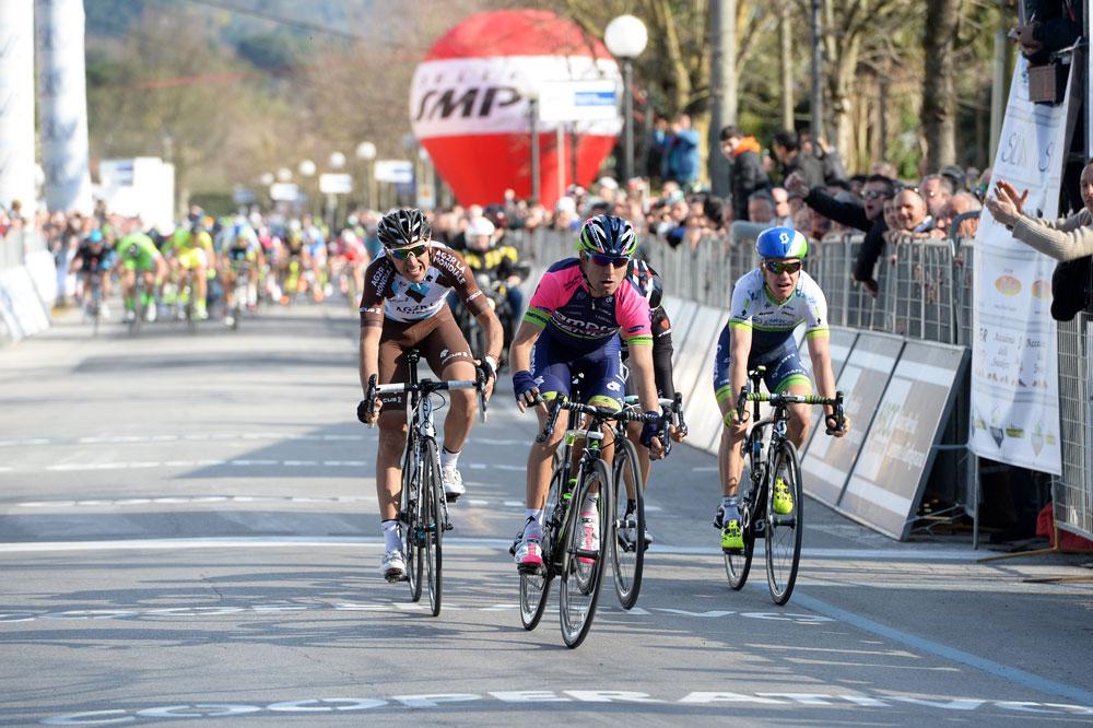 Diego Ulissi victorieux à Camaiore