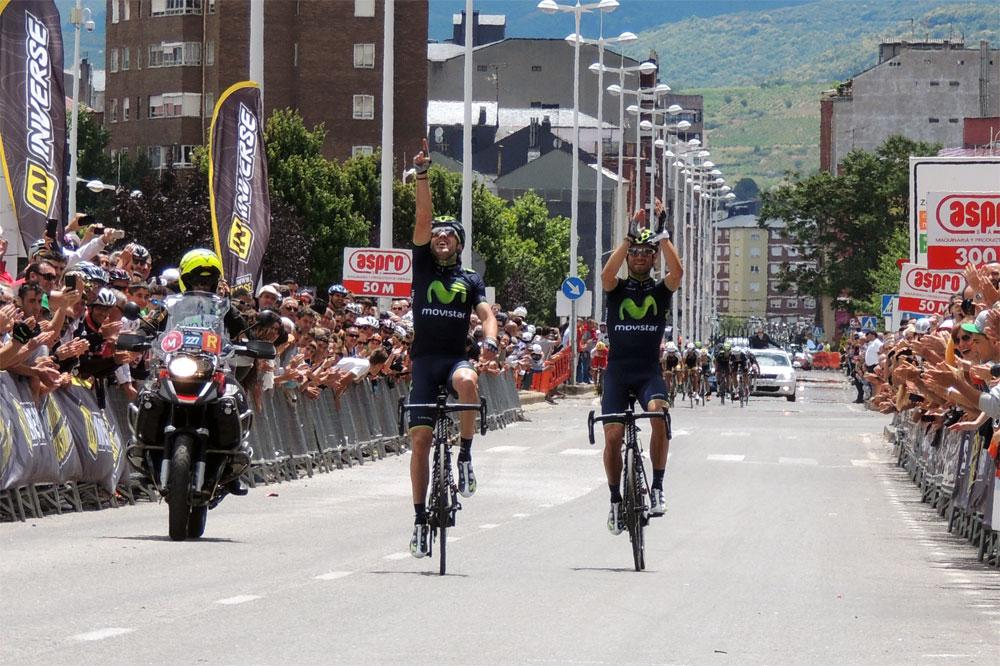 Ion Izagirre et Alejandro Valverde