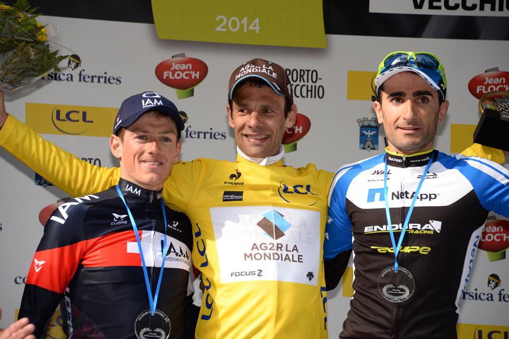Jean-Christophe Péraud en jaune