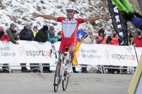 Joaquim Rodriguez victorieux dans les Pyrénées catalanes