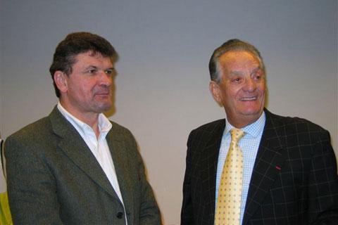 José Alvarez aux côtés de Bernard Thévenet