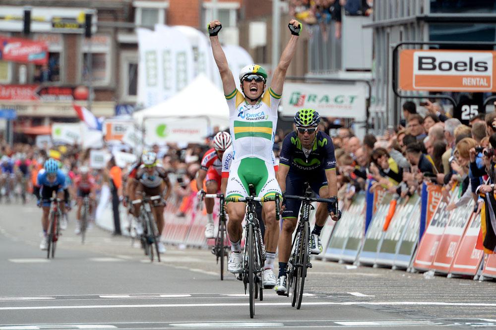 Un sprint conclut la 100ème édition de Liège-Bastogne-Liège : Simon Gerrans sort vainqueur