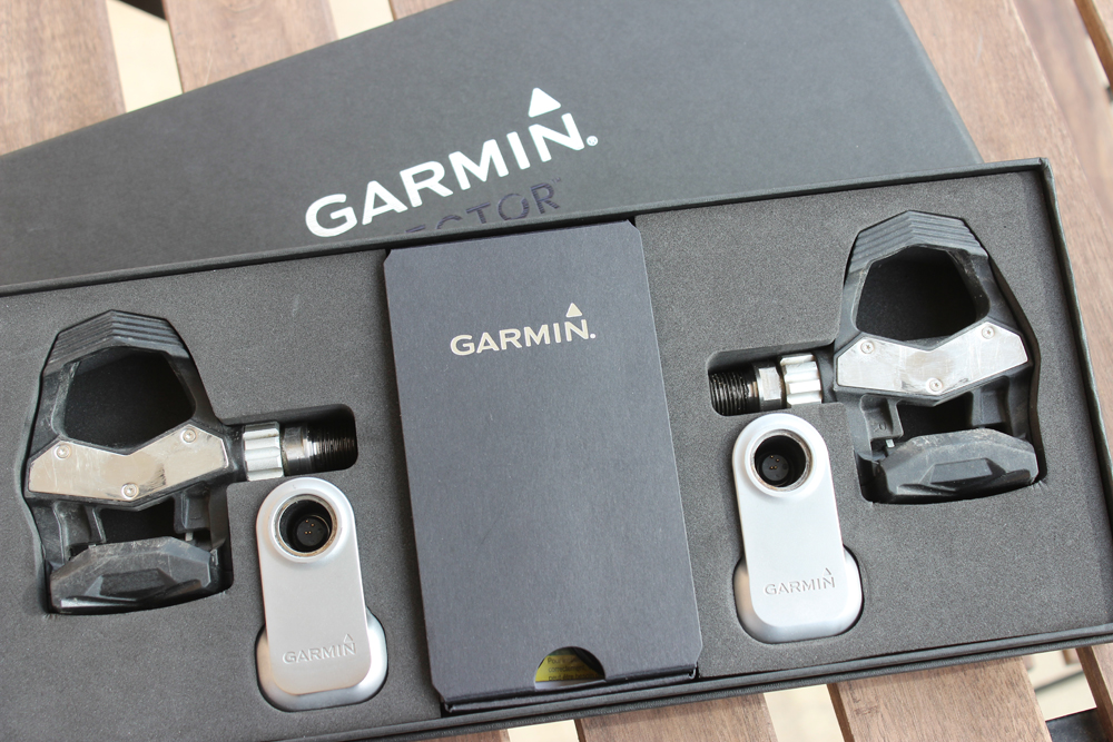 Le packaging des Garmin Vector