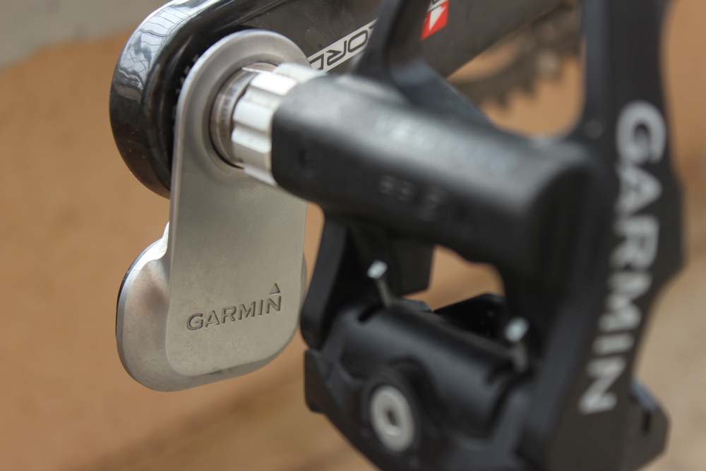 Le pods des Garmin Vector