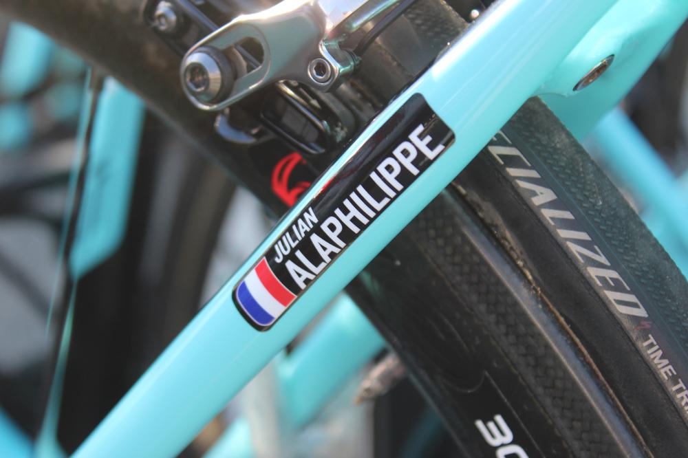 Le vélo de Julian Alaphilippe