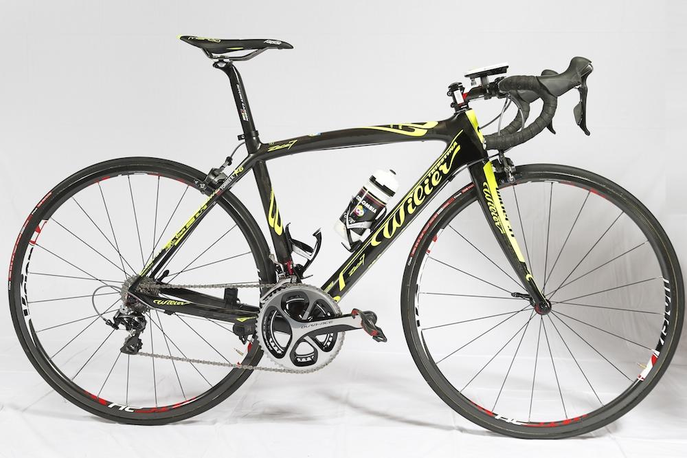 Le vélo route Wilier Zero.7 du Team Colombia