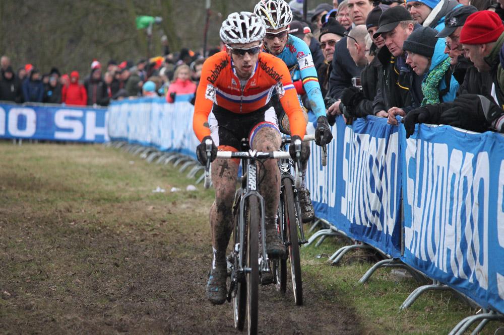 Lars Van Der Haar et Kevin Pauwels à la lutte pour la 3ème place