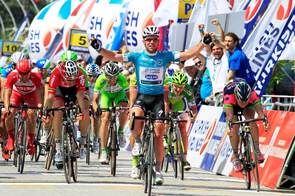 Deuxième victoire en deux jours pour Mark Cavendish