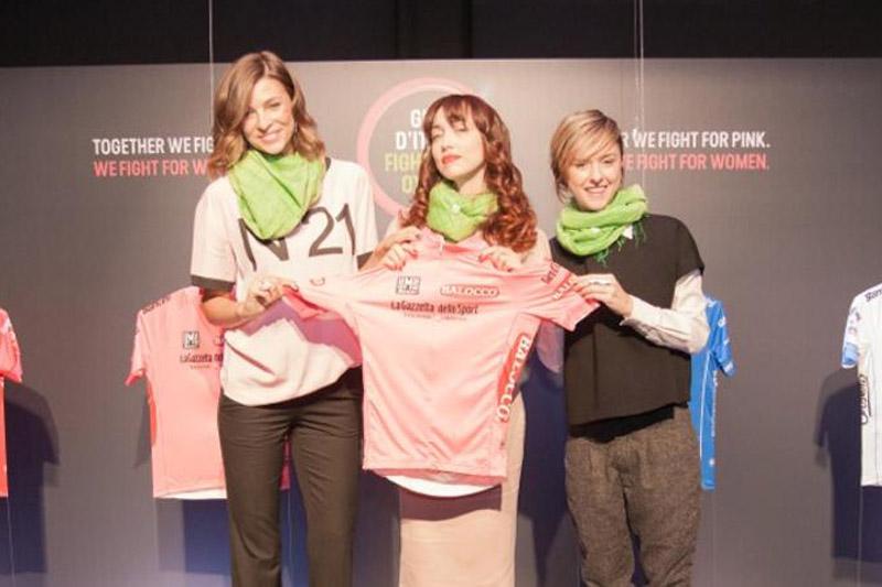 Les maillots distinctifs du Giro ont été présentés