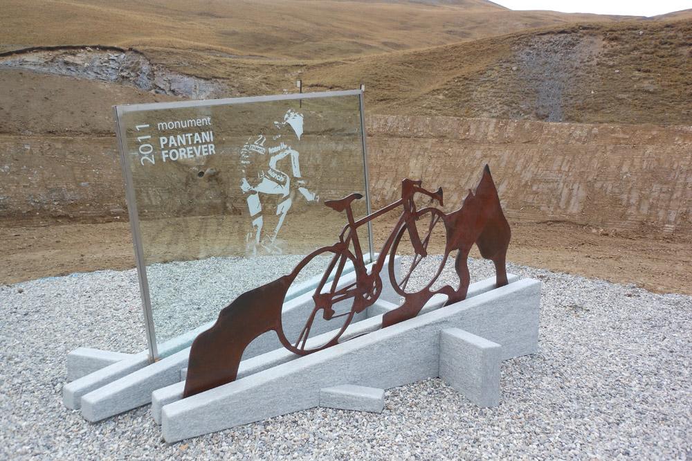 Un monument à la gloire de Marco Pantani