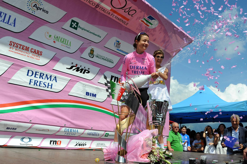 Marianne Vos remporte le Giro Rosa