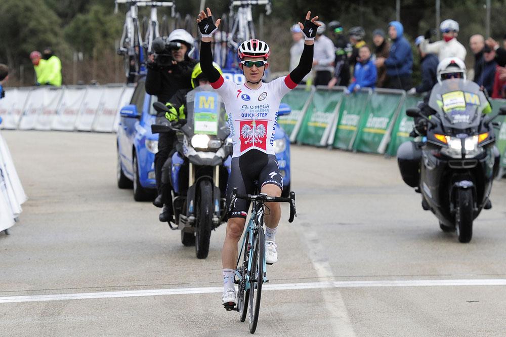 Michal Kwiatkowski vainqueur dans les Baléares