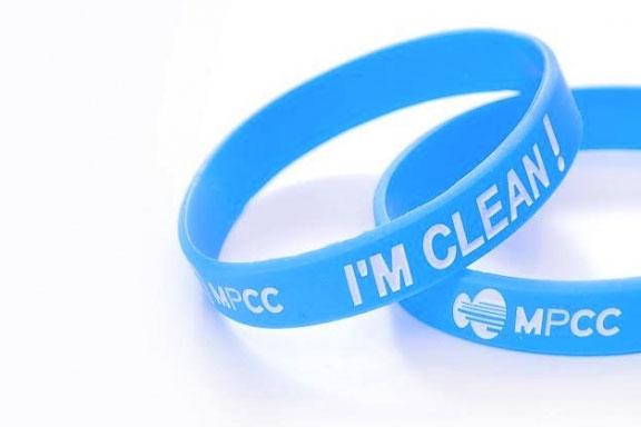 Le bracelet du MPCC change de slogan en 2014