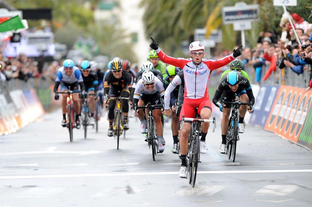 Alexander Kristoff triomphe de Milan-San Remo