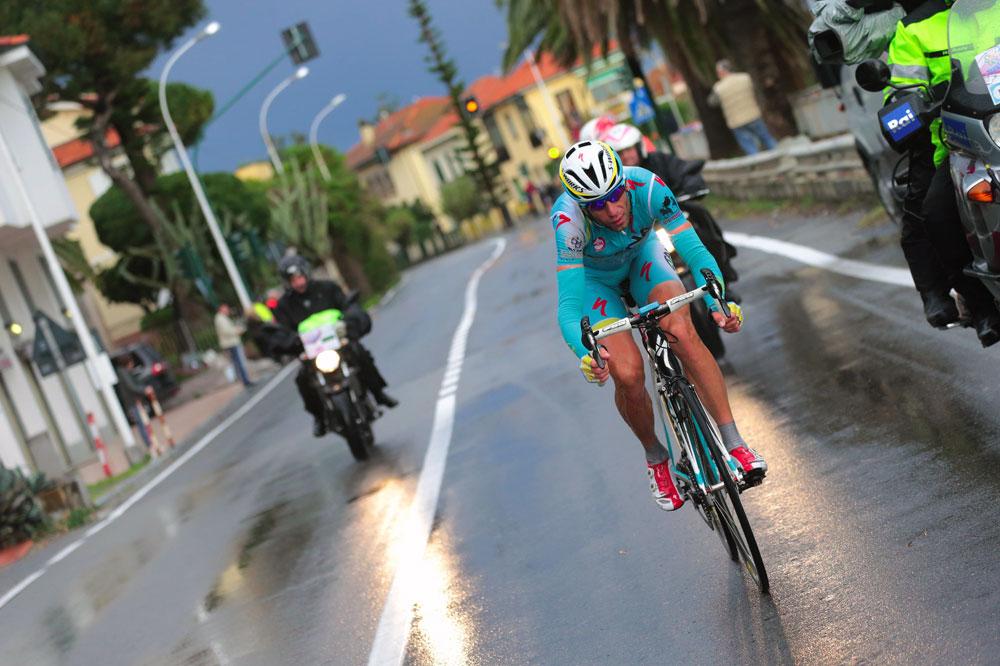 Vincenzo Nibali à l'attaque